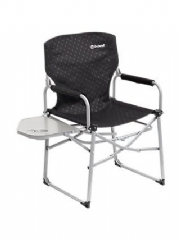 Outwell Picota Director Camping Chair with Side Table Black